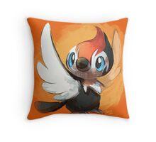 Pikipek Throw Pillow