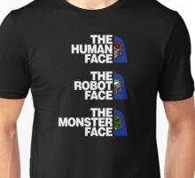 The North (Man-E) Face (White Text) Unisex T-Shirt