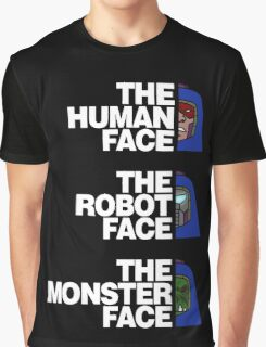 The North (Man-E) Face (White Text) Graphic T-Shirt
