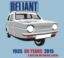 Reliant Robin saloon by car2oonz