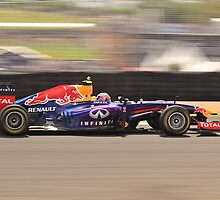 Mark Webber by Andrew Felton