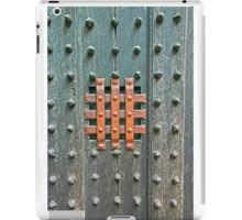 Medieval Studded Door iPad Case/Skin