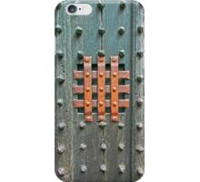 Medieval Studded Door iPhone Case/Skin
