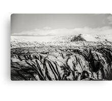 Am Gletscher IV Canvas Print