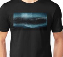 Abstract Turquoise Aurora Borealis (No.4 Textile Series) Unisex T-Shirt