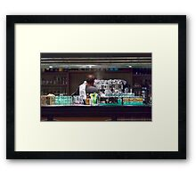 One Hot Espresso Coming Up! Framed Print