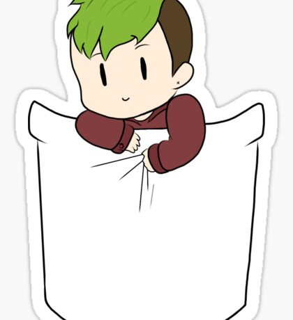 Pocket jack Sticker