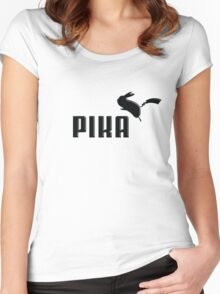 Pika! Women's Fitted Scoop T-Shirt