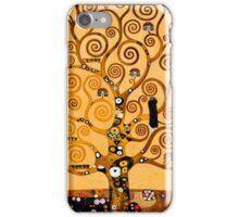 Tree of Life by Gustav Klimt Fine Art iPhone Case/Skin