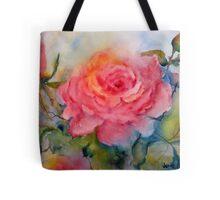 Rosy Roses Tote Bag