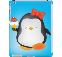 Ice cream penguin iPad Case/Skin