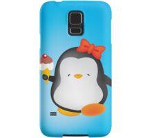 Ice cream penguin Samsung Galaxy Case/Skin