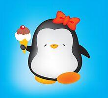 Ice cream penguin by mangulica