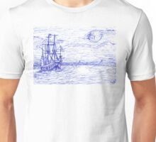 Piratenschiff Unisex T-Shirt