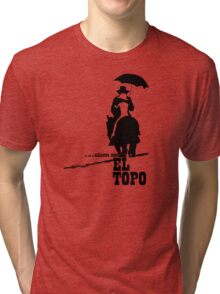 El Topo - metaphysical western by Jodorowsky  (The Mole) Tri-blend T-Shirt