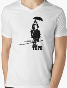 El Topo - metaphysical western by Jodorowsky  (The Mole) Mens V-Neck T-Shirt