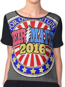 Weir/ Mayer 2016 Sticker Chiffon Top