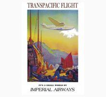 """IMPERIAL AIRWAYS"" Transpacific Advertising Print One Piece - Long Sleeve"