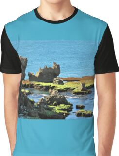 Coastal Formations Graphic T-Shirt