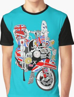 Union Jack Mods Bike Graphic T-Shirt