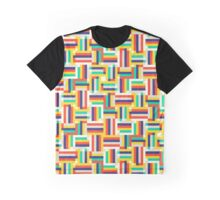 Digital colorful pattern Graphic T-Shirt