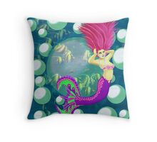 Coco of the Pacific Ocean Throw Pillow