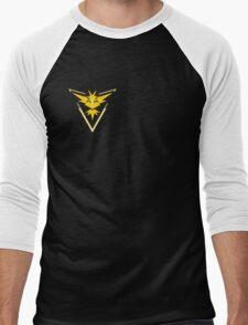 Pokemon Go Team Yellow Men's Baseball ¾ T-Shirt