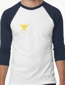 Pokemon Go Team Yellow Men's Baseball ¾ T-Shirt