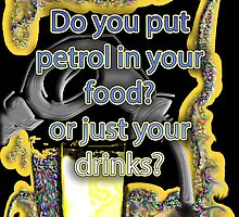 Petrol in food & drinks by Initially NO