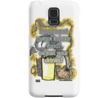 Petrol in food & drinks Samsung Galaxy Case/Skin