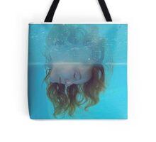 Underwater blues Tote Bag