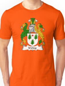 Irving Coat of Arms / Irving Family Crest Unisex T-Shirt