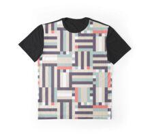 Digital pastel stripes Graphic T-Shirt