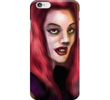 The woman in the park iPhone Case/Skin