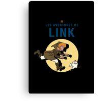 Les Aventures de Link Canvas Print