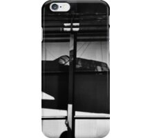 Memory of flight shadow of jet fighter wwii plane iPhone Case/Skin