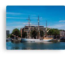 Tall Ship Kaskelot Canvas Print