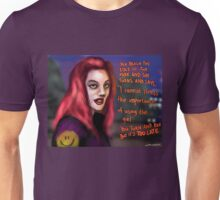 The woman in the park Unisex T-Shirt
