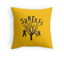 SUN TREE A-OK (Critical Role Fan Design)  Throw Pillow