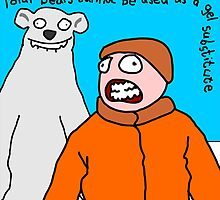 Polar bears - not a gel substitute. by Smallbrainfield