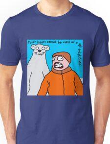 Polar bears - not a gel substitute. Unisex T-Shirt