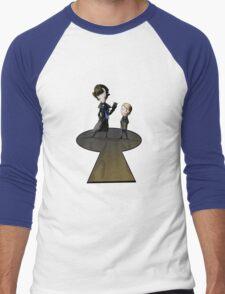Little Detectives Men's Baseball ¾ T-Shirt