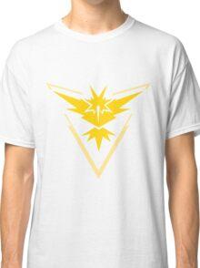 Pokemon Go Team Yellow Classic T-Shirt