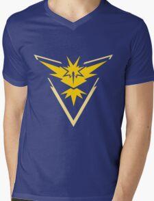 Pokemon Go Team Yellow Mens V-Neck T-Shirt