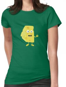 Cheese guy   Womens Fitted T-Shirt