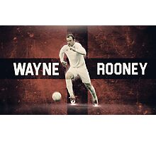 Wayne Rooney Euro 2016  Photographic Print