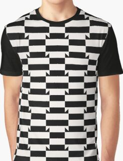 Abstract op art pattern Graphic T-Shirt