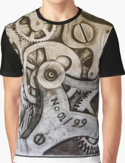 Mechanisms of Time Graphic T-Shirt