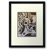 Mechanisms of Time Framed Print