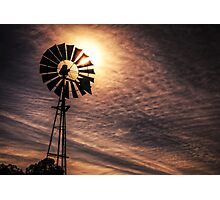 My sun burnt country Photographic Print
